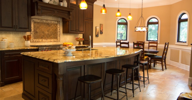 Helmsley Drive kitchen interior design in Atlanta