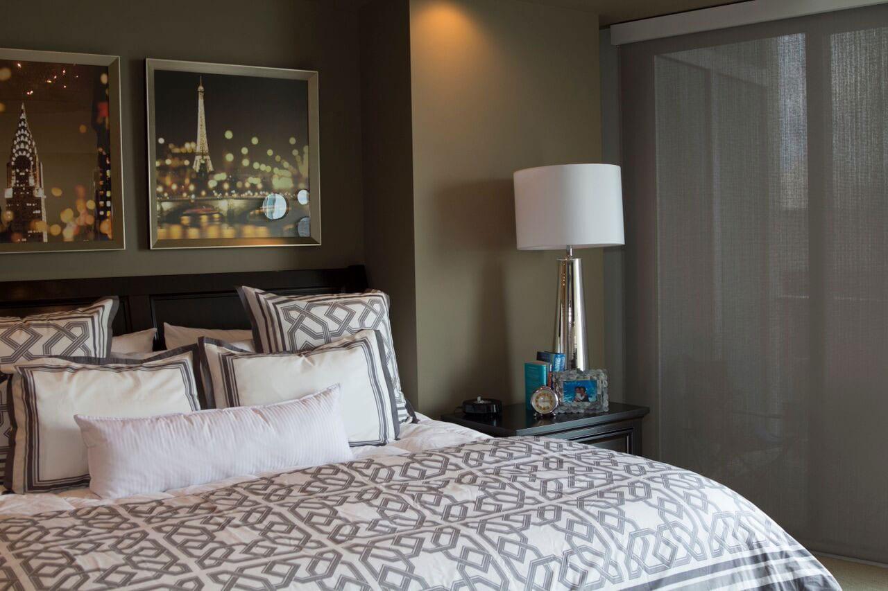 Bedroom interiors in Atlanta