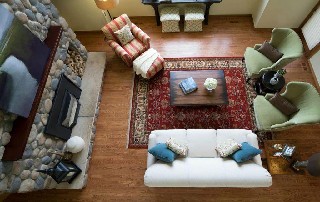 Atlanta living room interiors