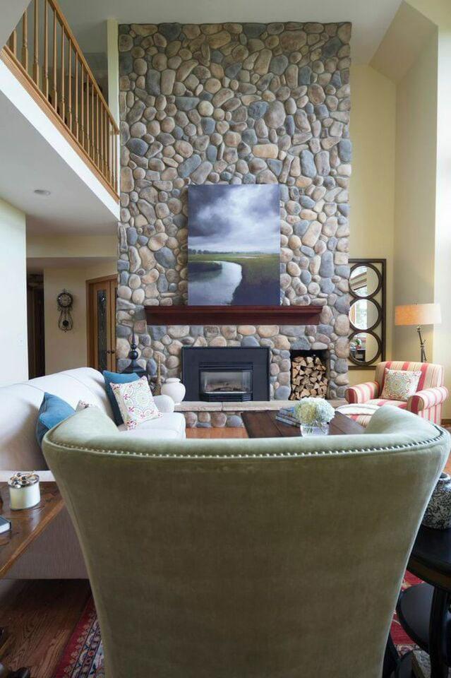 Living room design Atlanta