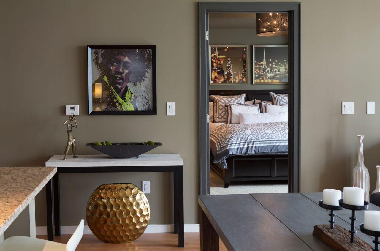 Terminus Place bedroom interior design in Atlanta