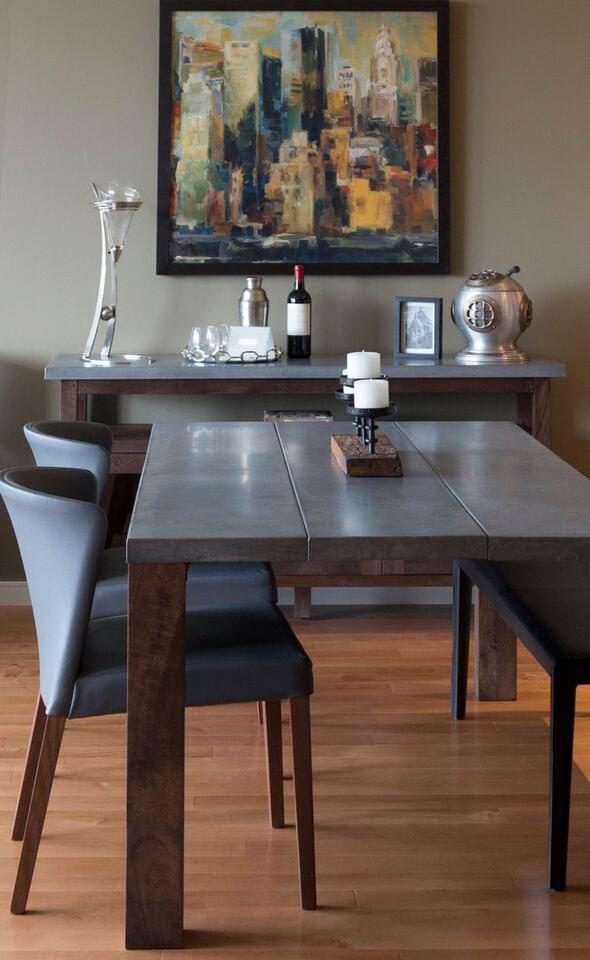 Terminus Place, Atlanta dining room design
