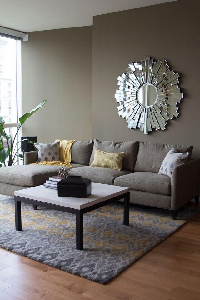 Terminus Place, Atlanta living room design