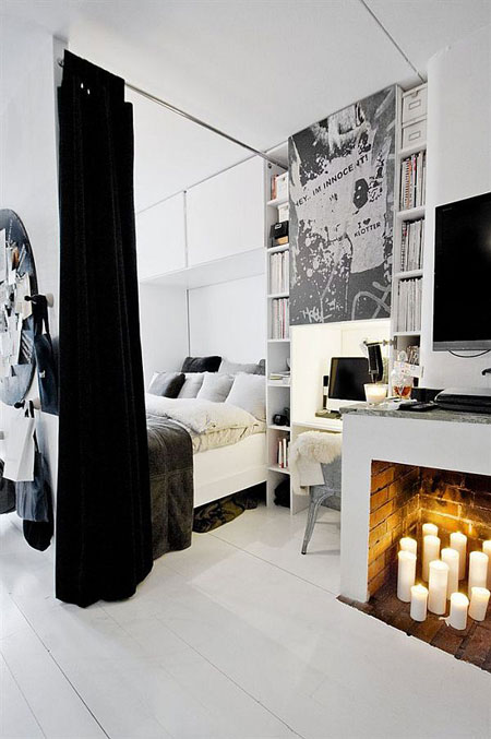 black-n-white-bedroom