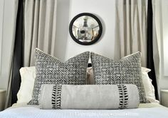 checkered-pattern-pillows