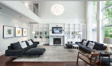 interior-black-sofa-with-small-white-cushions