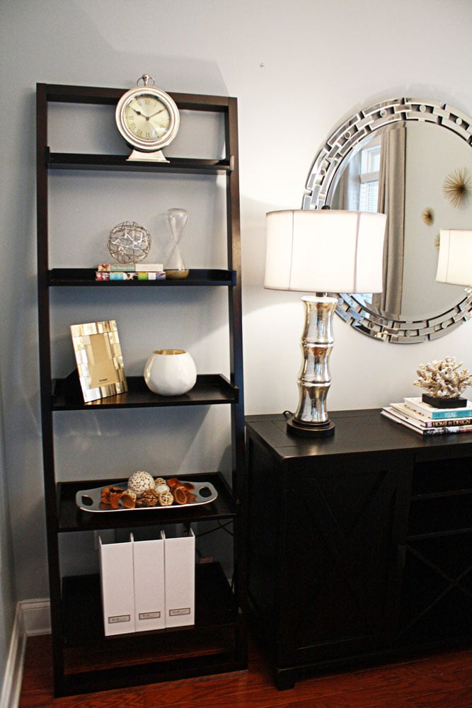 Piedmont Drive bookshelf decor in Atlanta