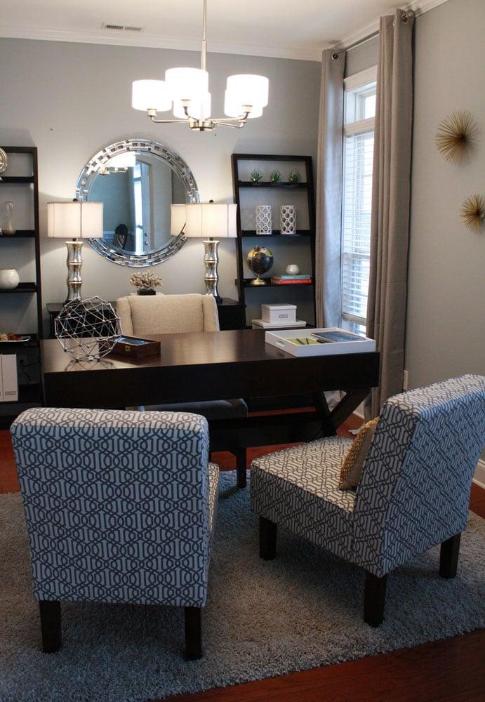 Piedmont Drive home office design in Atlanta