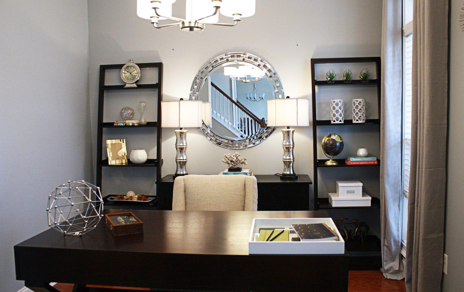 Piedmont Drive office decor in Atlanta