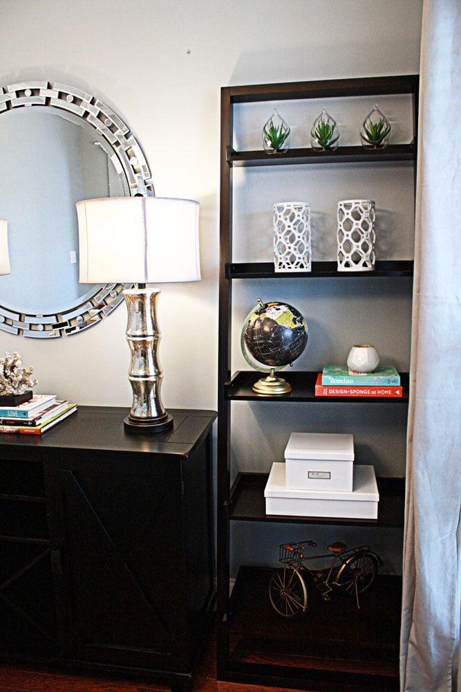 Piedmont Drive shelves design in Atlanta