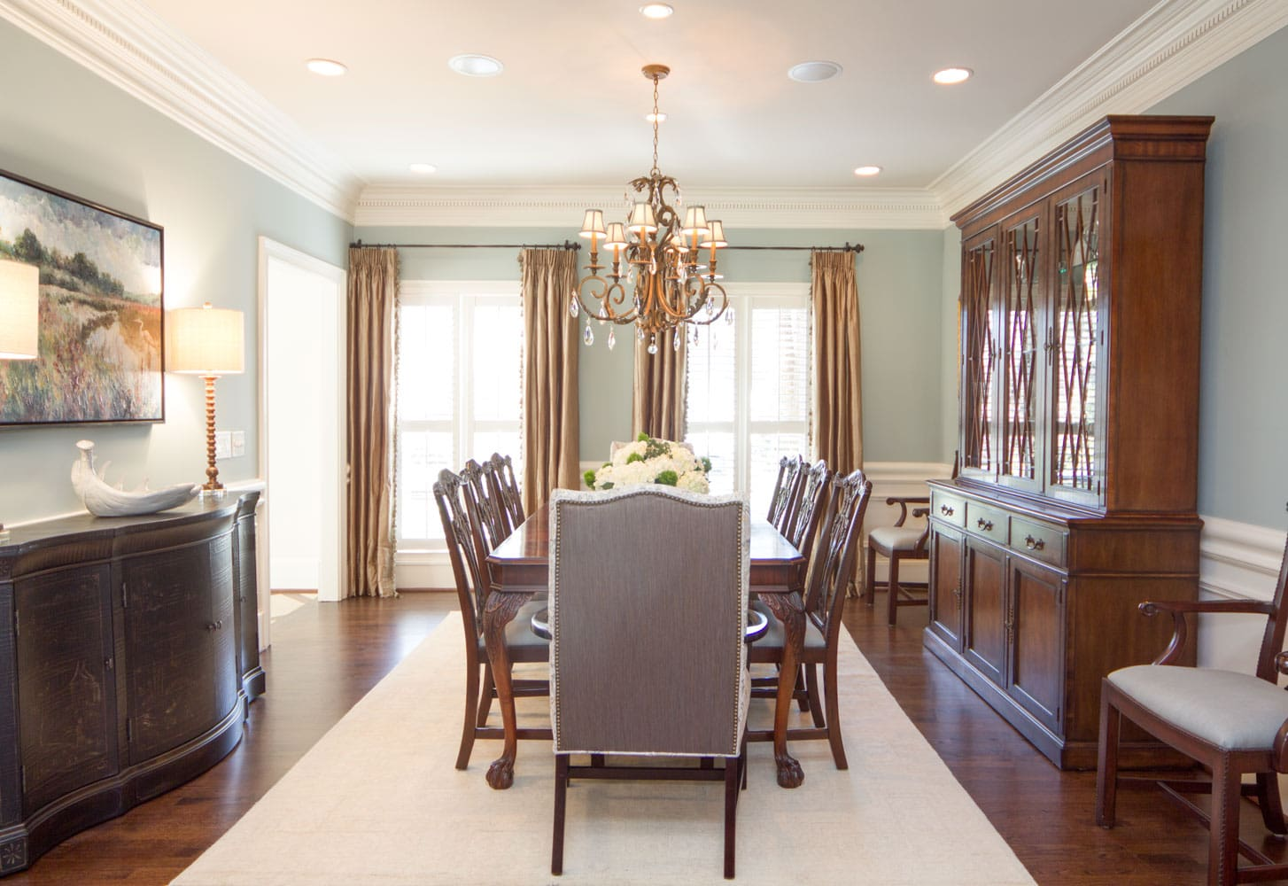 Dining room design in Riverland Ct, Atlanta