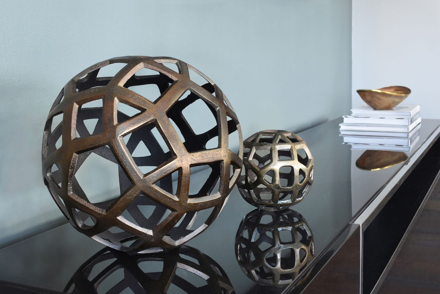 The Luxe in Atlanta home decor ball art design