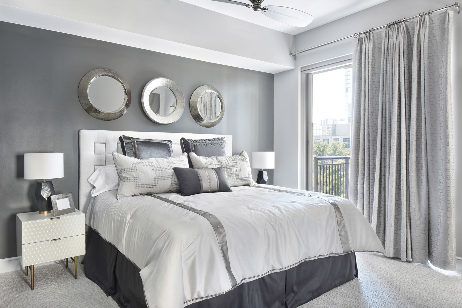 The Luxe in Atlanta master bedroom design