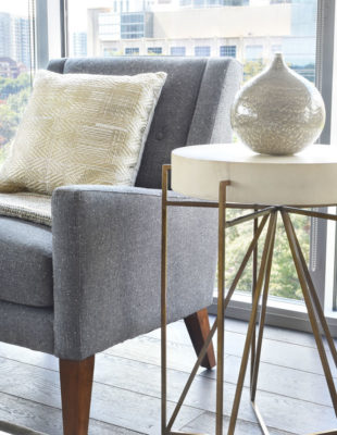 Side table chair design in Atlanta