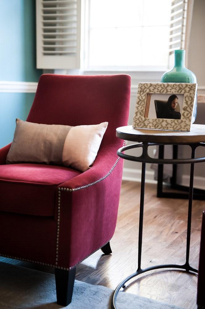 Wieuca Road custom chair design in Atlanta