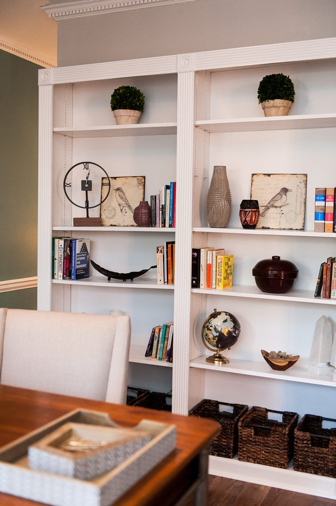 Wieuca Road home office interiors in Atlanta
