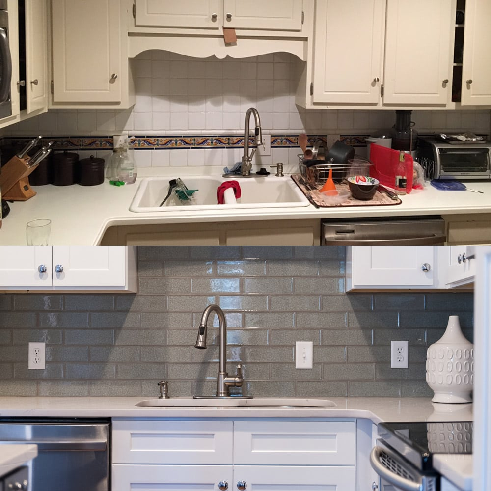 Atlanta kitchen design - before & after