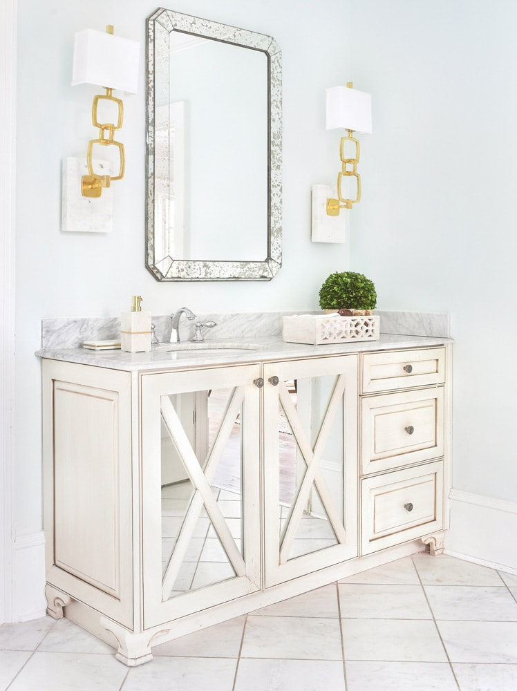 Peachtree Dunwoody master bath interior design in Atlanta