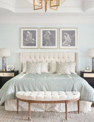 Peachtree Dunwoody master suite interior design in Atlanta